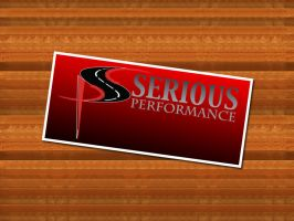 serious performance logo by syntex-nz