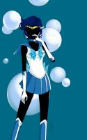 Sailor Mercury by anotherwannabeartist