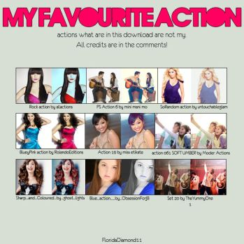 my favourite actions MFA 1 by FloridaDiamond11