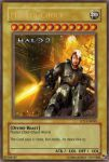 Master-Chuck, the card by halomerchant