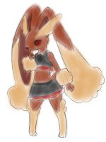 full-lopunny mode Truffle by AlloyRabbit