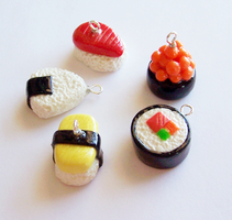 Sushi Charms by SeaOfCreations