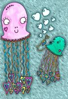 Happy mothers day jellyfish by xFeversAndMirrorsx