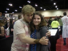 Me and Vic Mignogna by RinDei21