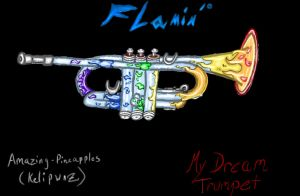 Flamin' Trumpet by Amazing-Pineapples