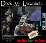 Doc's Ms. Lycanbota by truemouse