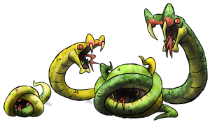 Snake Pit Fakemon by T-Reqs