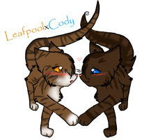 Leafpool Kissed a Girl and She Liked It by PurryProductions-Inc