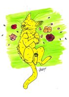 Yellow Cat by Read-the-Wind