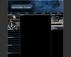 CS Gaming template 2 by Jriccio