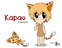 Kapao the Kitten by dektung