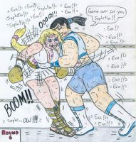 Boxing Eva vs Sophitia by Jose-Ramiro
