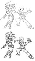 OPS Characters by eyenod