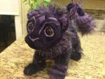 Fantasy Lion Cub Posable Art Doll by curious-form