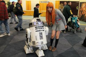 orihime and R2D2 by rainyrainbows