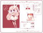 Sugar Reference Sheet by Akausa
