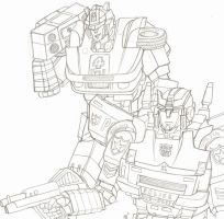 Jazz and Prowl by ravage-eject
