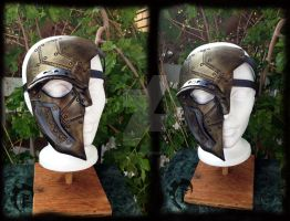 Steampunk half mask by Feral-Workshop