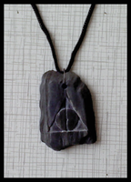 Deathly Hallows pendant by DarkMark1991