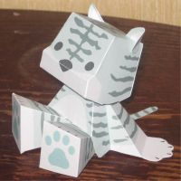 Mint-Tiger Rommy by paperart