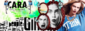 #CaraDelevingne#Cover#Green-Blue#ByFurkan by FurkanY