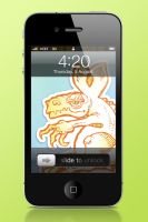 GowallaZilla iPhone Wallpapers by RedeemingDesign