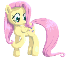 Fluttershy - Embarrassed by Aramande