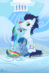 PC - Family of Wonderbolts by Ojos-Color-Bosque