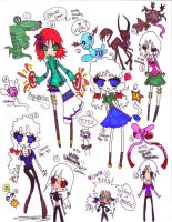 Doodle Dump 3 by Tesuway-chan