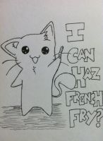 French Fry :D by mnightthepet