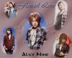 Alice Nine-Flannel Love by LunarIceDragon