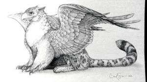 Himalayan Griffin by NepuApsadee