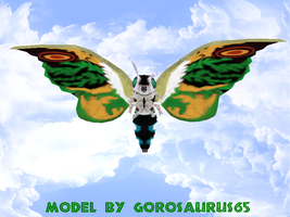 Newcomer Mothra Leo + DL by Gorosaurus65