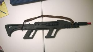 The Time Lord Rifle (strapped and capped) by ChronoSFX