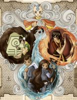 Avatar: The Last Airbender 2 by Futago-Maximus