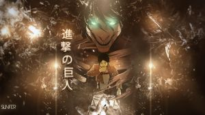 Wallpaper Shingeki no Kyojin FULL HD by Sl4ifer