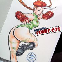 Nycc-31 - Rogue dressed as Cammy by theCHAMBA