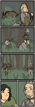 Hunting by hPolawBear