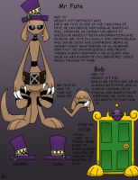 Mr. Fate Ref Sheet by zombiecatfire13