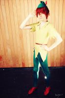 Peter Pan cosplay by Feeracie