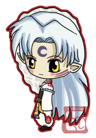 Sesshomaru Chibi by IcyPanther1