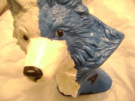 Zera Close Up Wolf Bust by SoraTheDemon