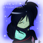 .Love Will Thaw A Frozen Heart. by ZimTheGreat