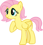 Short Mane Fluttershy by Doctor-G