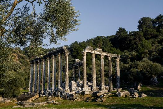 Euromos-zeus temple by budhaxx