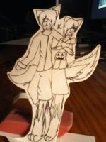 paper child 5 halloween by goicesong1