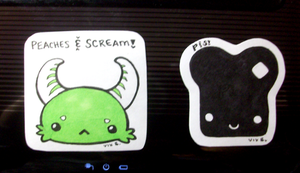 First Stickers by Vixie-Bee