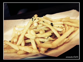 Truffle Fries without cheese by raelyn-earfalas