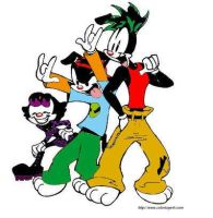 Funky animaniacs colored by cartoonlover425876
