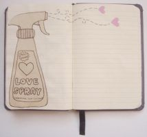 Spray some love . . by acuar3la